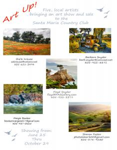 Art Up Art Exhibit And Sale At Santa Maria Country Club